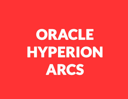 Hyperion Account Reconciliation Cloud Services (ARCS) Online Training